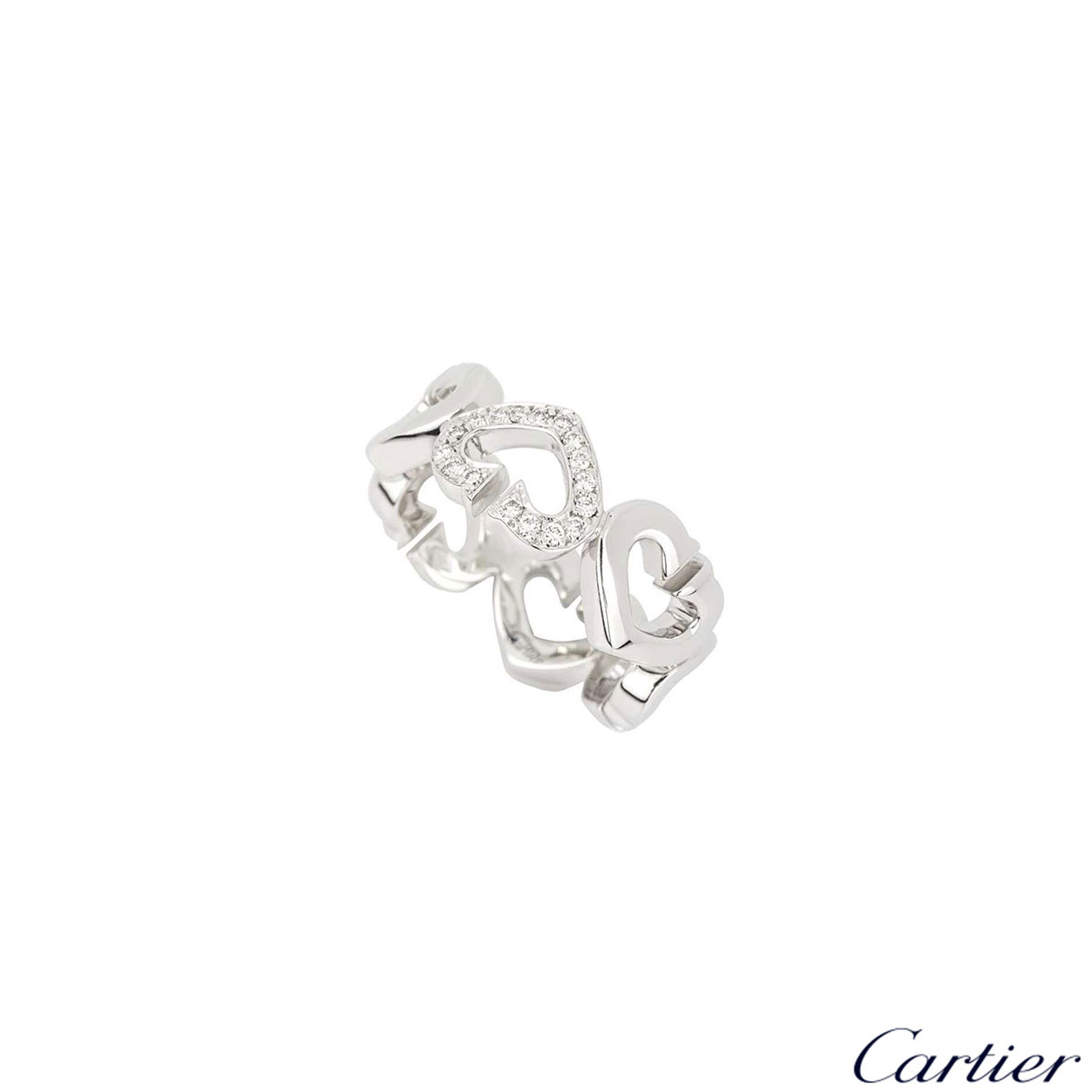 Cartier Hearts and Symbols Ring
